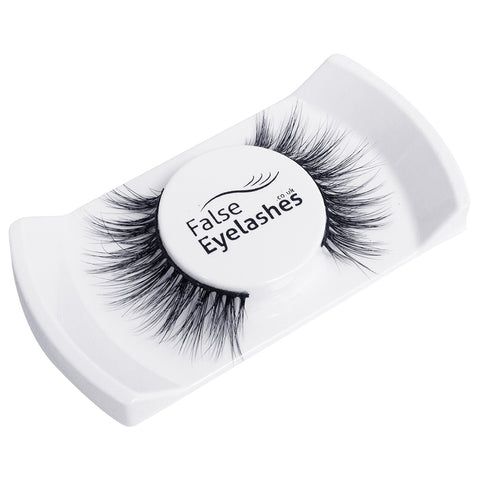 FalseEyelashes.co.uk 3D Mink Lashes - 004 (Angled Tray Shot 2)