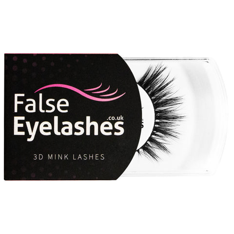 FalseEyelashes.co.uk 3D Mink Lashes - 004 (Packaging Shot)