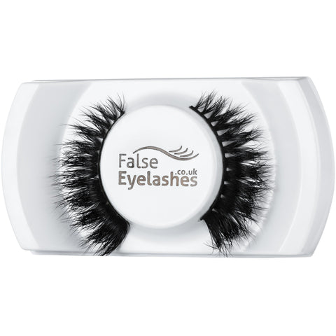 FalseEyelashes.co.uk 3D Mink Lashes - 007 (Angled Tray Shot)