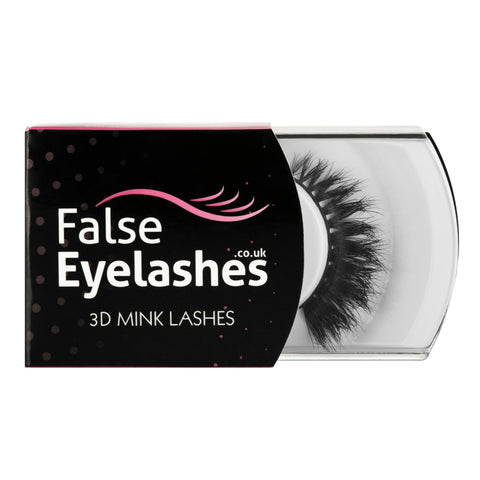 FalseEyelashes.co.uk 3D Mink Lashes - 007 (Packaging Shot)