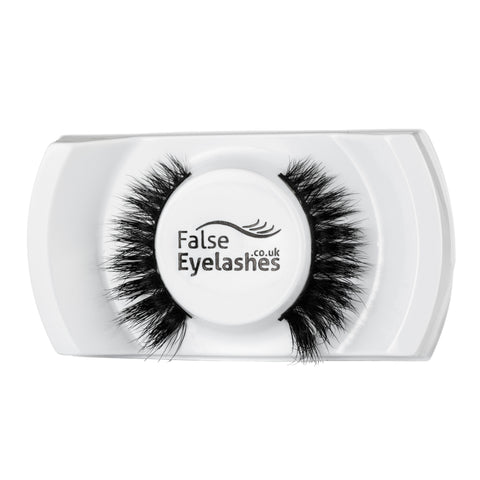 FalseEyelashes.co.uk 3D Mink Lashes - 011 (Angled Tray Shot)