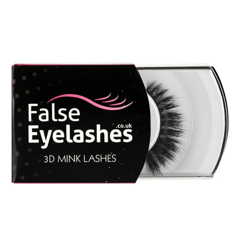 FalseEyelashes.co.uk 3D Mink Lashes - 011 (Packaging Shot)