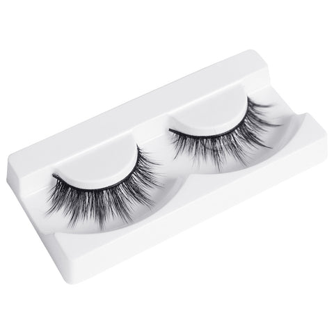 Flutter Lashes - 477 Premium Ersatz Eyelashes (Tray Shot 3)