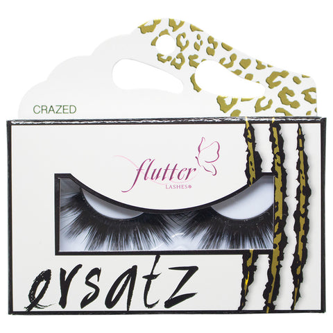Flutter Lashes - Crazed Ersatz Eyelashes (Packaging)