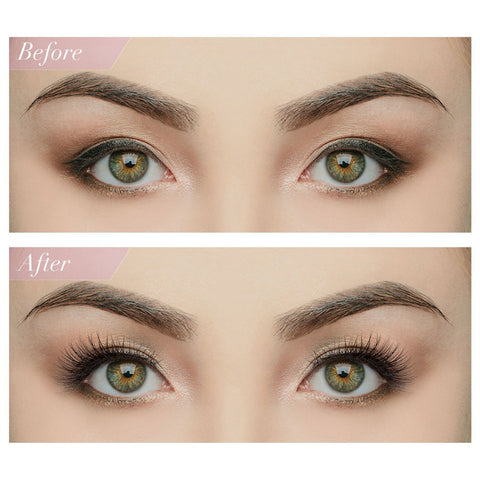 House of Lashes - Boudoir Lite (Before and After Model Shot)
