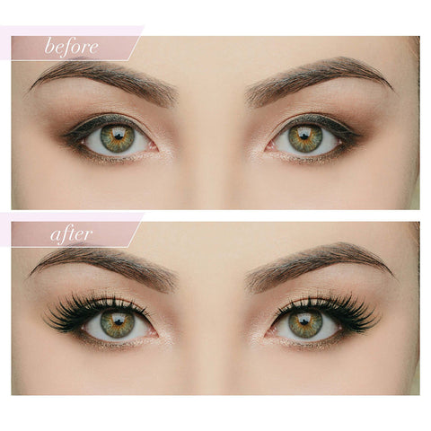 House of Lashes - Noir Fairy - Before & After 2