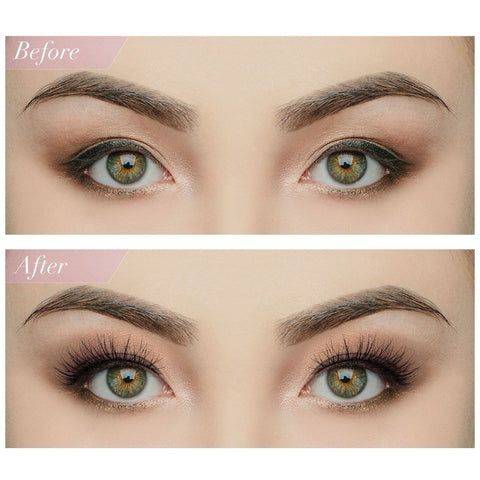 House of Lashes - Serene Lite (Model Shot - Before and After)