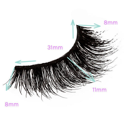 House of Lashes - Smokey Muse - Measurements