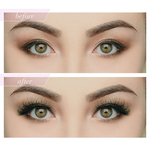 House of Lashes - Smokey Muse - Before and After