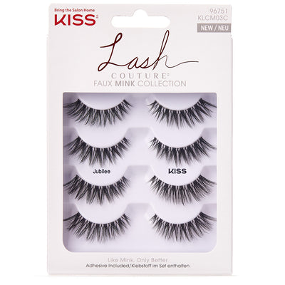 Kiss Lash Couture Faux Mink Collection - Jubilee (Multipack) - Tray Shot