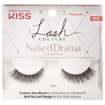 Kiss Lash Couture Naked Drama - Veil