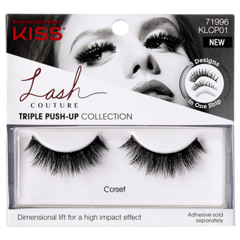 Kiss Lash Couture Triple Push-Up - Corset