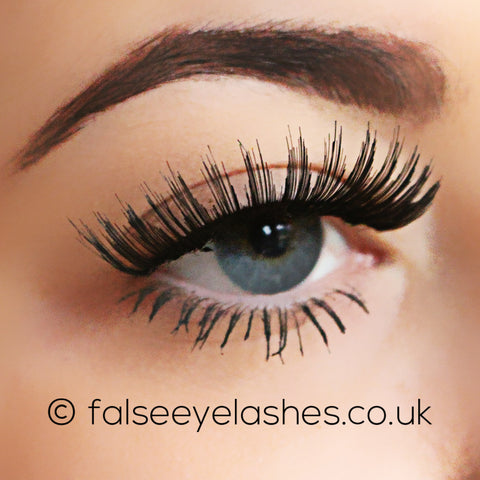 Kiss Haute Couture Lashes Twinpack - Coy - Side Shot