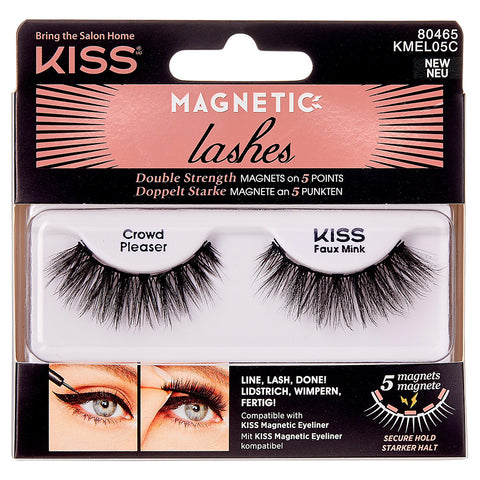 Kiss Magnetic Lashes - Crowd Pleaser