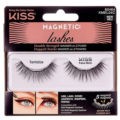 Kiss Magnetic Lashes - Tantalize
