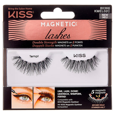 Kiss Magnetic Lashes - Tempt