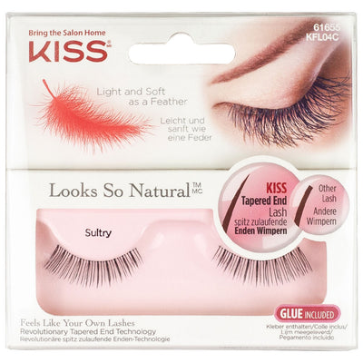Kiss Natural False Lashes - Sultry