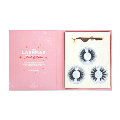 Land of Lashes Faux Mink 3x Gift Set