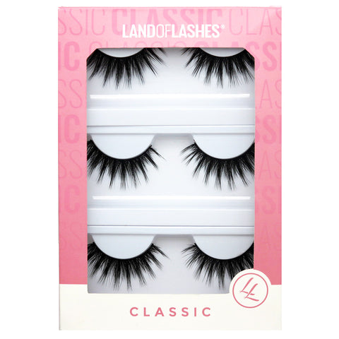 Land of Lashes Faux Mink Lashes Multipack - Aurora