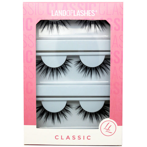 Land of Lashes Faux Mink Lashes Multipack - Fierce