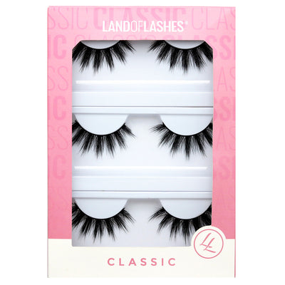 Land of Lashes Faux Mink Lashes Multipack - Paloma