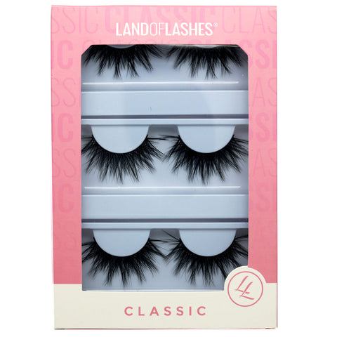 Land of Lashes Faux Mink Lashes Multipack - Tahlia