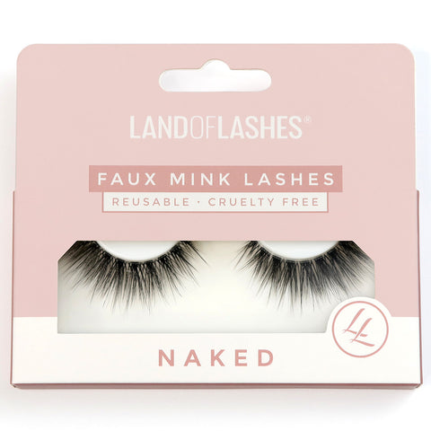 Land of Lashes - Naked #3 (Packaging)