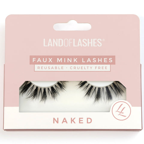 Land of Lashes - Naked #4 (Packaging)