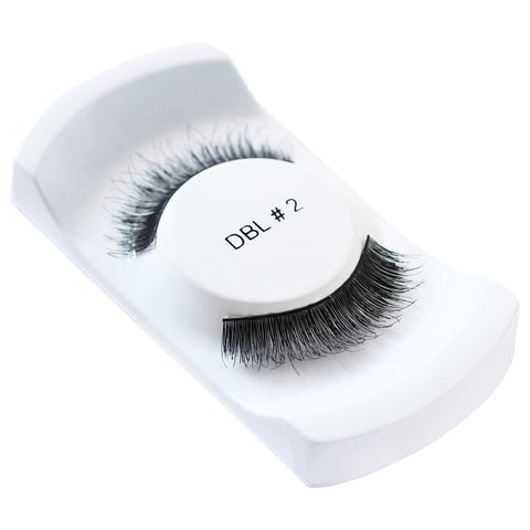 Lash Unlimited False Eyelashes - Style DBL #2 (Angled Shot 2)