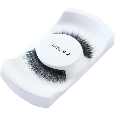 Lash Unlimited False Eyelashes - Style DBL #2 (Angled Shot 1)
