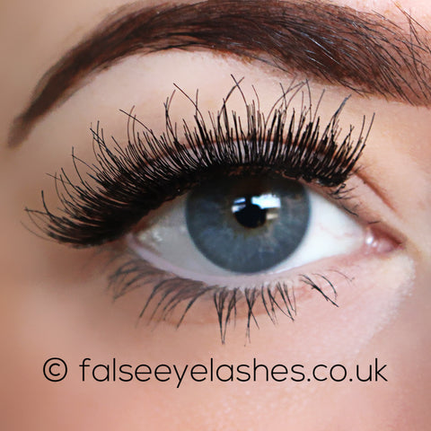 Lash Unlimited False Eyelashes - Style DBL #2 (Model Shot 1)