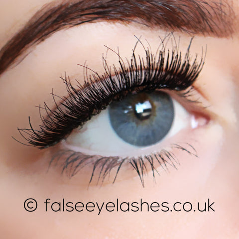 Lash Unlimited False Eyelashes - Style DBL #2 (Model Shot 2)