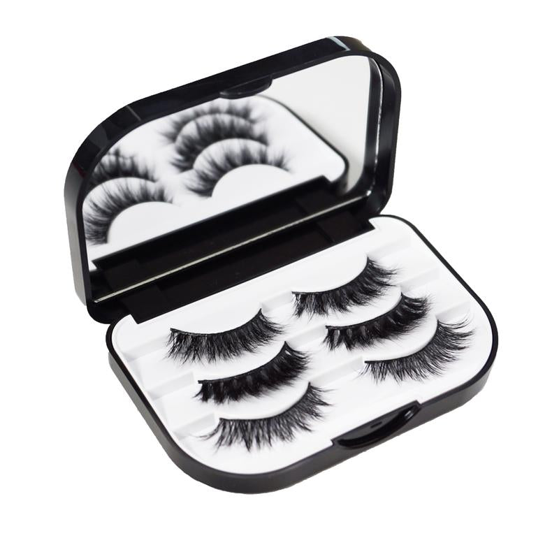 "Lilly Lashes - ""I'm Not Perfect"" Lash Case (Open)"
