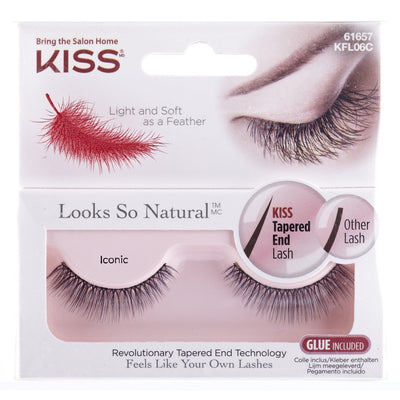 Looks So Natural - Kiss Natural Lashes - Iconic