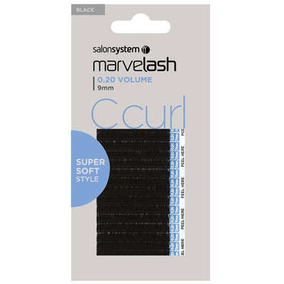Marvelash C Curl Lashes 0.20 Volume Super Soft (9mm)