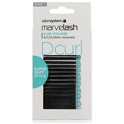 Marvelash D Curl Lashes 0.20 Volume Super Soft, Assorted Length (9, 11, 13, 15mm)