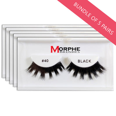 Morphe Lashes #40 (BUNDLE OF 5 PAIRS)