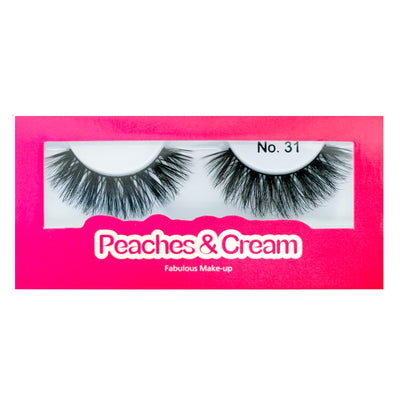 Peaches and Cream Faux Mink Lashes - Style No. 31