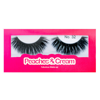 Peaches and Cream Faux Mink Lashes - Style No. 32