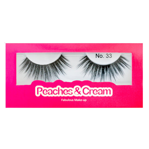 Peaches and Cream Faux Mink Lashes - Style No. 33