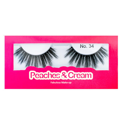 Peaches and Cream Faux Mink Lashes - Style No. 34