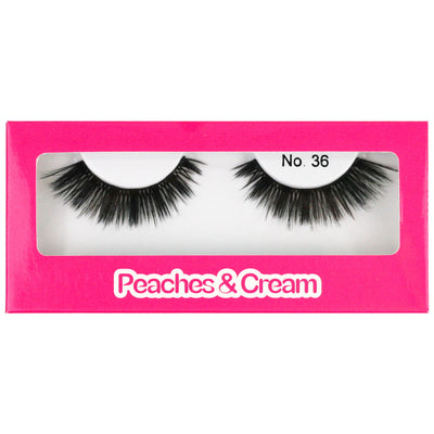 Peaches and Cream Faux Mink Lashes - Style No. 36
