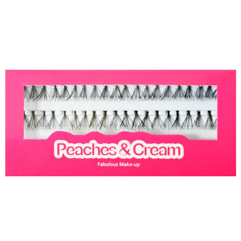 Peaches and Cream - Individual Lashes 12mm Thick (Medium)