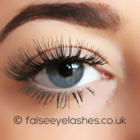 Peaches and Cream Lashes - Style No. 1 - Front Shot