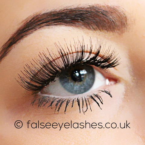 Peaches and Cream Lashes - Style No. 1 - Side Shot