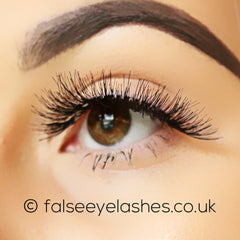 Peaches and Cream Lashes - Style No. 8 - Side Shot