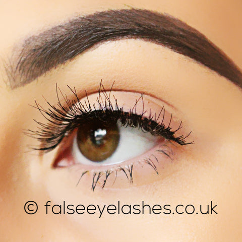 Peaches and Cream Lashes - Style No. 9 - Side Shot