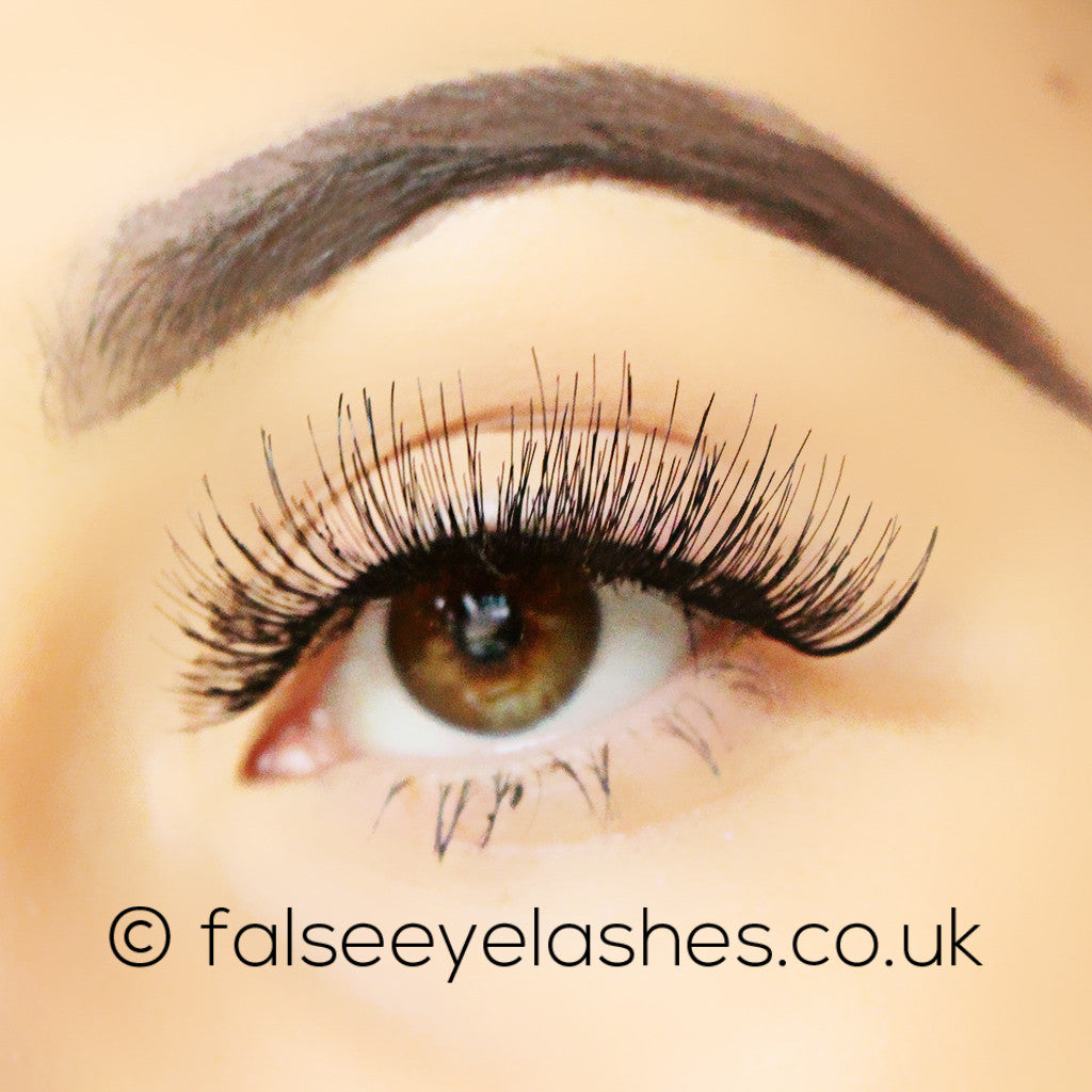 Peaches and Cream Lashes - Style No. 18 - Side Shot