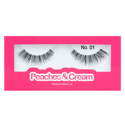 Peaches and Cream Lashes - Style No. 1