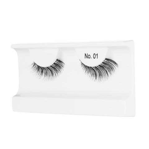 Peaches and Cream Lashes - Style No. 1 (Angled Tray Shot)
